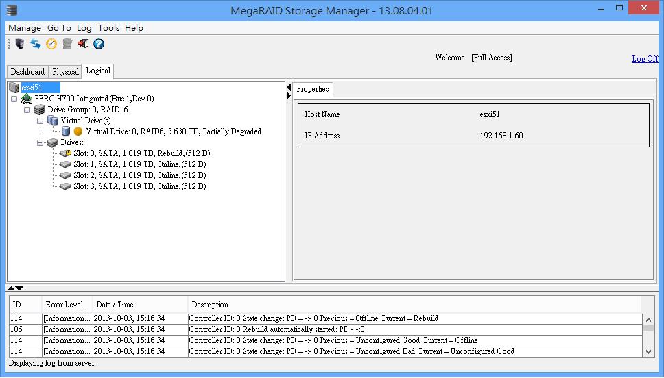 Megaraid Storage Manager Dell Perc 6i - teensfasr